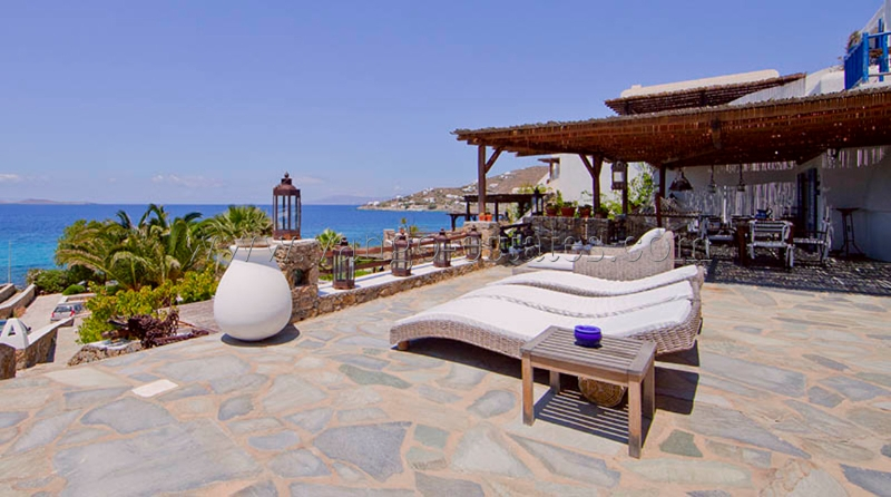 Mykonos - Luxury villa in private complex in front of th sea