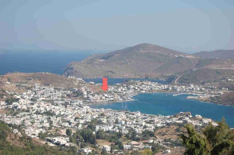Plot of land for sale in Skala Patmos