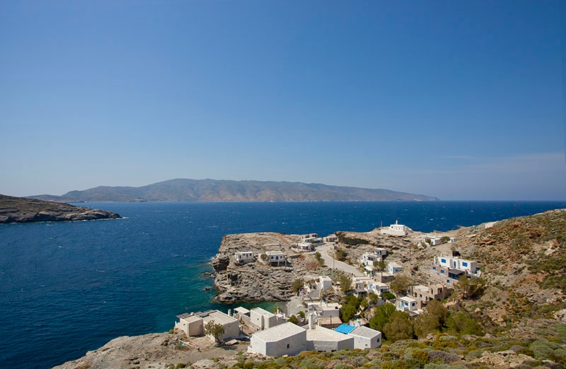 House on the sea for sale Koumelas Tinos
