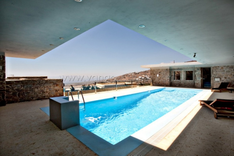 Private luxury villa with pool and fantastic view