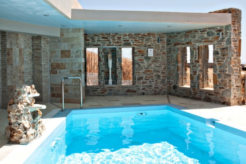 Villa with private pool authentic architecture with sea view