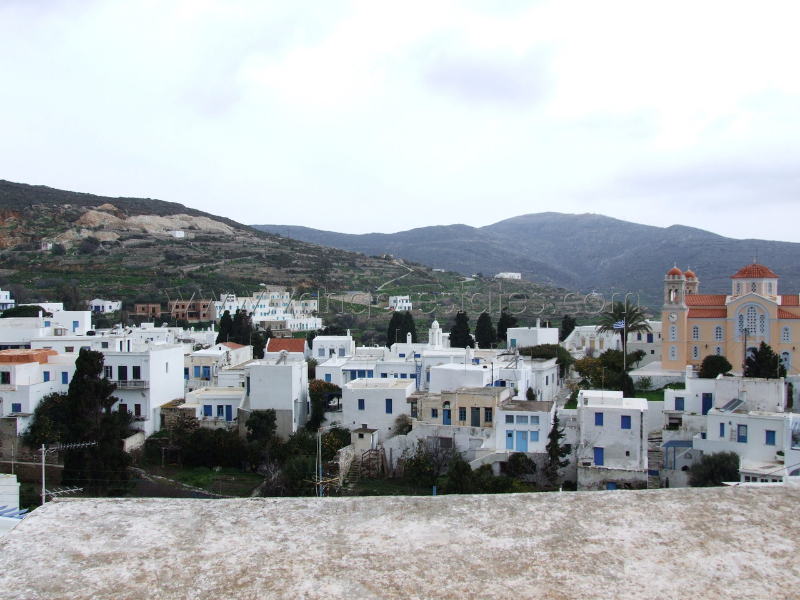 Pyrgos village listed house for sale