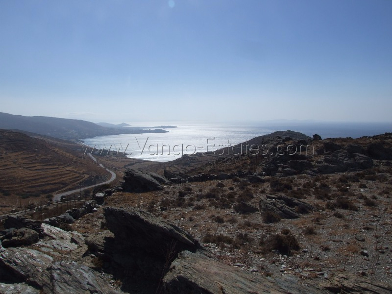 Vourni panoramic view, plot of land for sale