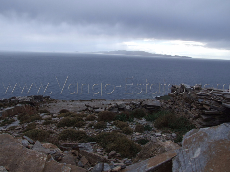 Old quarry plot of land for sale Tinos