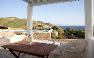 Maison à Elia à 800 m. de la plage d'Elia / Location de vacance