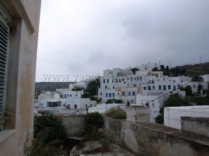 Listed house with panoramic view to Pyrgos / Real-estate