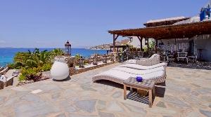 Mykonos - Villa de luxe face a le mer dans un complexe privé  / Location de vacance
