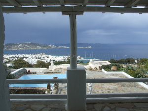 Mykonos house for sale in private complex in town SOLD / Real-estate