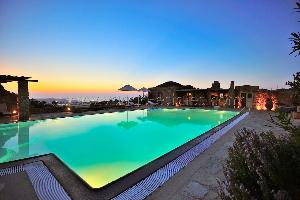 Mykonos Hillside villa / Location de vacance
