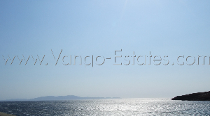 Large sea front field/plot of land for sale Tinos / Real-estate