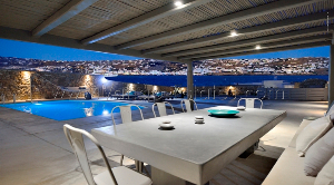 Sea front Mykonos Villa, little Venice view / Holiday-Rentals