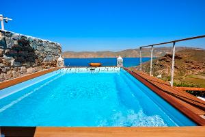 Mykonos, Studio Panormos / Location de vacance